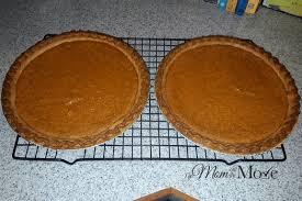 fall favorites sweet potato pie