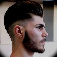 Coiffure Cheveux Homme Coupe Court Vue Arriere De Lhomme Au