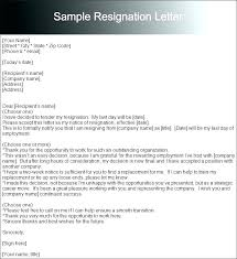 Template Resignation Letter 2 Week Notice – Equityand.co