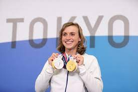 her Olympic swimming success ...