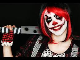 clown makeup tutorial easy scary clown 31 days of halloween lets learn makeup