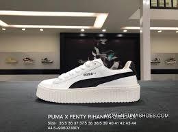 Puma X Fenty Rihanna Creeper Rihanna Collaboration Flatform Shoes 364462 01 Size Super Deals