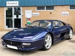 Find used ferrari f355 now on autozin. Ferrari F355 Used 1997 Ferrari F355 Berlinetta Gtb Coupe 47 000 Miles In Blue For Sale Carsite Used The Parking