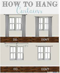 How High To Hang Curtain Rods Above Window Inspirational Best 25 Hanging  Curtain Rods Ideas On Pinterest