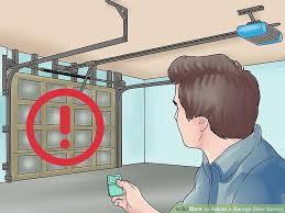 image titled adjust a garage door spring step 3
