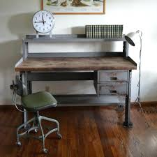 wooden desk ideas. Cool Industrial Desks Ideas Photos Awesome Best Style Desk On Dark Wood Pertaining Wooden