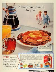 garden grocer beautiful amazon 1959 ad breakfast bonus aunt jemima pancake mix free