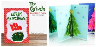 Printable Christmas Cards For Kids Kids Craft Room
