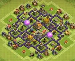 Base 7 10 Best Th7 Base Town Hall 7 Layouts Coc Top Hybrid Base