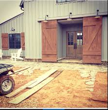 GL: Want to do something like this for the door... | Pole barn ...