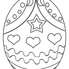 Easter Egg Coloring Pages Printable Free Coloring Page Free