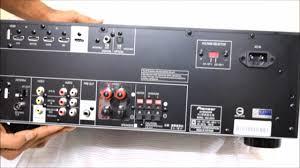 pioneer vsx 530 k. pioneer vsx-329-k av receiver unboxing vsx 530 k