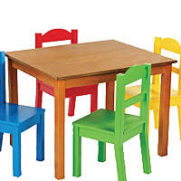 table chair for toddler. Pleasant Design Table And Chairs For Toddlers Tot Tutors Focus Wood 4 Primary Colored Chair Toddler