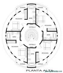 planos casas circulares 1 maison ronde modèle maison maison plan maison