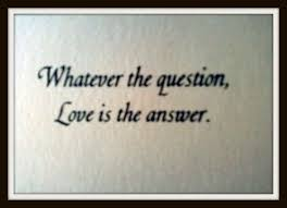 Love Is The Answer Quote Mesmerizing Love Is The Answer Quote Impressive Jack Johnson Quotes QuoteHD