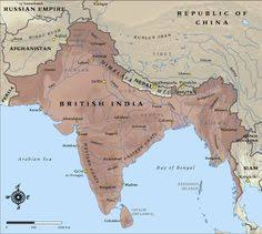 a map of india before partition in 1947 british victorian India Map Before 1600 map of british india in 1914 india map before 1600
