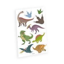 временные татуировки динозавры