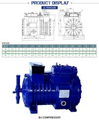 types of refrigeration compressors. 5hp frozen factory workshop refrigerated open type refrigeration compressor types of compressors