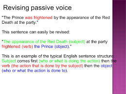 re entering your writing to improve depth clarity and 9 revising passive voice the