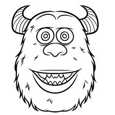 Kleurplaat Monsters En Co Monster Ag Malvorlagen Disneymalvorlagen