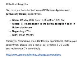 Cv Order Academic Cv Karen Chui Medium