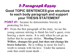 class the five paragraph essay an important writing tool  10 5 paragraph essay good