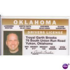 Free Oklahoma United Sings Garth Be Brooks Shall States 64046034 Fun Collector Card We Ok Rodeo Ebid On Yukon