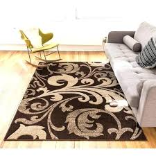 3 by 5 area rugs 3 by 5 rug scrolls brown area rug x 7 3 3 by 5 area rugs
