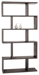 Arteriors Carmine Bookshelf, Gray Limed Oak contemporary-bookcases
