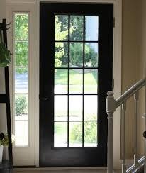 15 panel glass door with sidelights