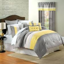 depiction of yellow and gray bedroom decor neutral meets cheerful nuance yellow and grey duvet covers