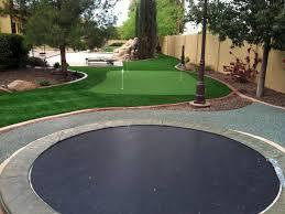 Faux Grass McNary Arizona Lawns Backyard Ideas