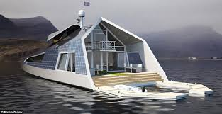 Small Picture Maxim Zhivov designs ultimate houseboat concept Daily Mail Online