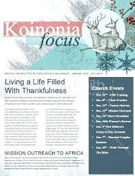Christian Newsletter Template Grupofive Co