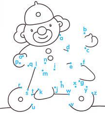 Alphabet Dot To Dot Worksheets For Kindergarten - Everylev Elofs