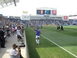 Talen Energy Stadium Section 101 Home Of Philadelphia Union