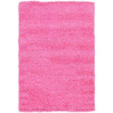 solid taffy pink 4 x 6 rug