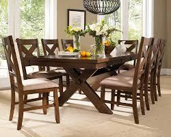 farm style dining room set table