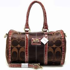 Coach Madison In Saffiano Medium Brown Crossbody Bags OA13   Buy Cheap Coach  - Coach Outlet Online