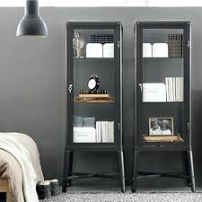 ikea hemnes glass door cabinet astonishing ideas shelves with glass doors glass door cabinet dark gray