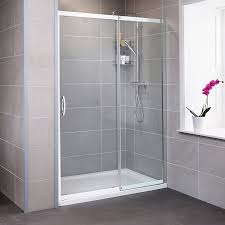 aquafloe iris 8mm 1400 sliding shower door