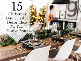 15 dinner table decoration ideas for your festive feast