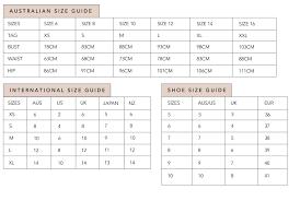 Mishkah Fashion Size Guide