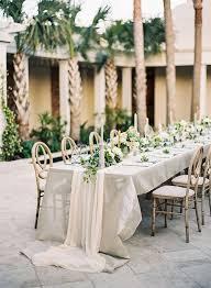 Rectangle Tables Wedding Reception 15 Pretty Perfect Wedding Reception Ideas