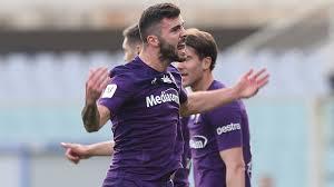 Patrick Cutrone subito in gol all'esordio con la maglia della Fiorentina; Coppa Italia, gli ottavi di finale.