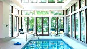 pool house cost building an indoor plans with to build a