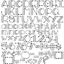 Alphabet Outline Template Letter Collages Legacy Photo Templates