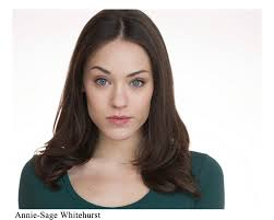 Annie Sage Whitehurst Actress