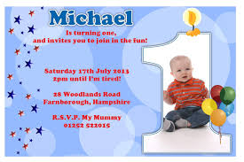invitation wording for 1st birthday boy best birthday invitation card sle wording elearningninja
