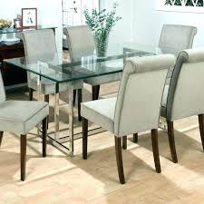 glass dining table round set image of tables decor 6 chairs retro top with
